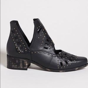 Sbicca studded leather boots